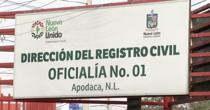 Registro Civil en Apodaca