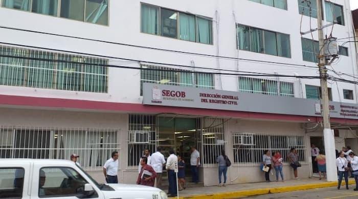Saca tu acta de nacimiento en Villahermosa
