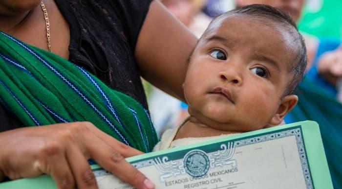 Requisitos para registrar a un recien nacido en Cancun